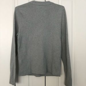 Abercrombie & Fitch Sweaters - Abercrombie & Fitch Thick V-Neck Button Gray